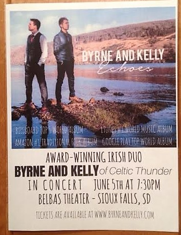 An Evening With Byrne And Kelly Echoes | Sioux Falls Arts Council