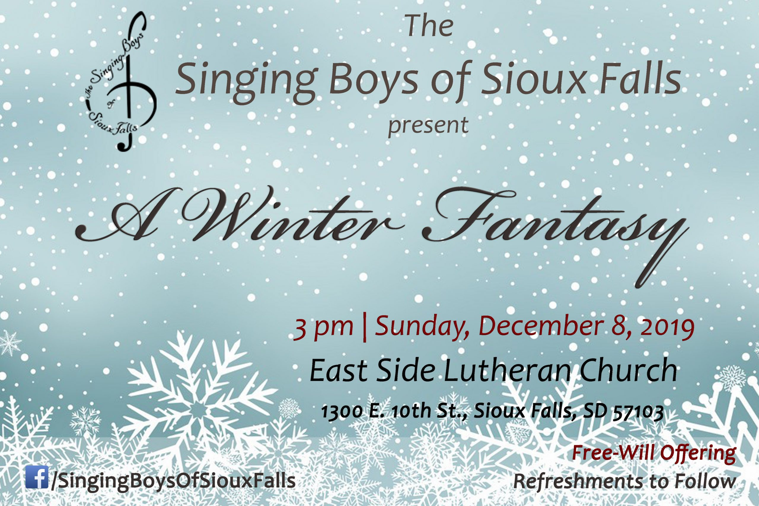 Christmas Concerts 2020 Sioux Falls Sd Singing Boys of SF Christmas Concert – Sioux Falls Arts Council